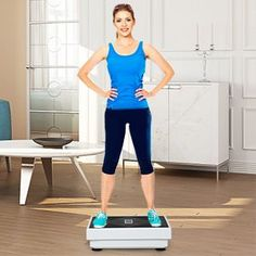 """""""Features Highlight"""" CDCASA Mini 3D Vibration Plate Exercise Machine - Whole Body Vibration Platform Exercise Machine - Home & Travel Workout Equipment for Weight Loss, Toning & Wellness,1-99 Levels #ExerciseandFitness #VibrationPlatformMachines #PHOEROSVibrationPlateExerciseMachine #PHOEROS #VibrationPlateExerciseMachine #ExerciseMachine #WeightLoss Exercise Machine, Workout Machines, Whole Body Vibration, Workout Equipment, Travel Workout, Highlight, Plate, Platform, Sporty"""