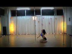 Pole Art Routine 22 - Level 5 (Metallica - I Disappear)