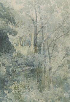 In Rokeby Park by John Sell Cotman Watercolor
