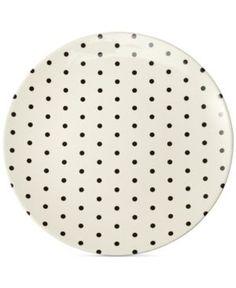 kate spade new york Dots Melamine Salad Plate