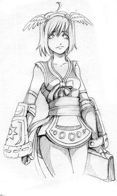 Star Gladiator by Kate-FoX