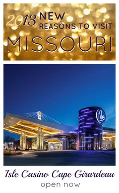 Isle Casino Cape Girardeau is Missouri's newest gaming experience. Free entertainment, five restaurants and over 1,000 games from slots to poker can turn an evening into a party.