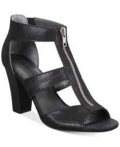Rialto Ritz Block-Heel Dress Sandals - Black 5.5M