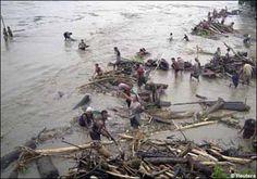 Floods and landslides claim 77 in Assam, India. July 1, 2012