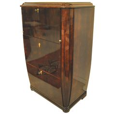 Art deco secretaire | From a unique collection of antique and modern secretaires at http://www.1stdibs.com/furniture/storage-case-pieces/secretaires/