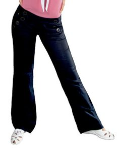 Yes, I know these are 'dance pants,' but I think they'd be adorable with a white top, flower in the hair and flip flops on a spring day or on vacation!