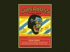 SUPERBOSS by Emir Ayouni #Design Popular #Dribbble #shots
