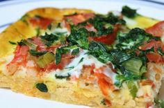 Awesome Slow carb recipes here  - pizza, frittata, etc...