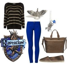 Everyday Ravenclaw cosplay