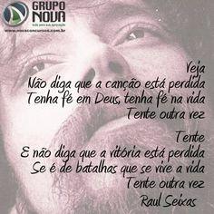 Esse trecho da canção do Raul se encaixa perfeitamente para quem está na caminhada dos Concursos...