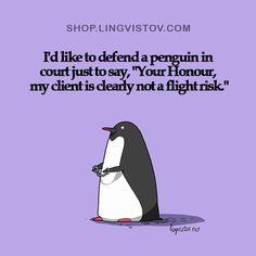 Lingvistov - Penguin, not a flight risk