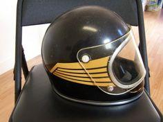 Aurthur Fulmer AF-50 Falcon vintage motorcycle helmet | eBay