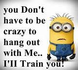 Amusing Minion Quotes You Will Enjoy! We have 16 funny and amusing minion quotes that will make you smile and chuckle a little bit.We have 16 funny and amusing minion quotes that will make you smile and chuckle a little bit. Minion Love Quotes, Minions Love, Minions Quotes, Minion Stuff, Minion Sayings, Evil Minions, Minion Talk, Purple Minions, Minions Minions