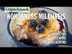 Milchreis ohne Milch, glutenfrei, laktosefrei, Paleo, Kokosmilch, LCHF