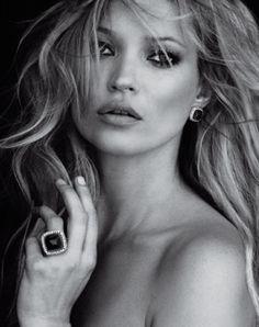 Kate Moss, David Yurman Advertisement.