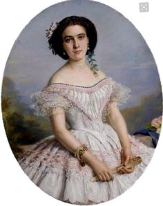 Carlota de Bélgica- 1850