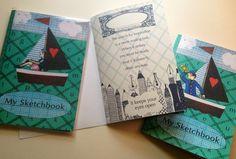 A5 Illustrated Sketchbook  £6.00