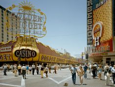 Stephen Shore, Golden Nugget (27 June, 1978), Las Vegas, Nevada, USA