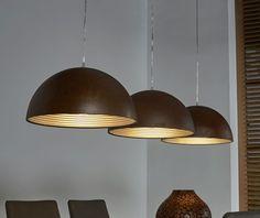 Collectie Prima-Lux en Idee+:  reeks van 3 hanglampen