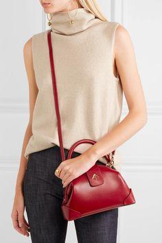 Manu Atelier | Demi mini leather shoulder bag | NET-A-PORTER.COM