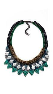 Adia Kibur Stone Layer Necklace   SHOPBOP