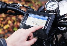Gear: Malle Motorcycle Phone Mount Keeps You On Track