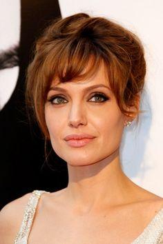 Angelina Jolie at the Paris Salt premiere
