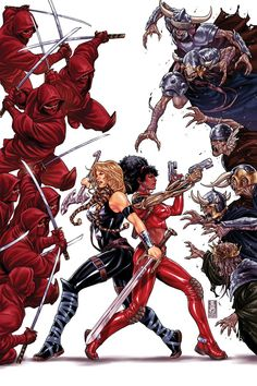 Fearless Defenders Vol.1 #1 (Cover art by Mark Brooks)