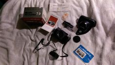 Minolta Medium Format Point & Shoot Film Camera for sale online Shoot Film, Cameras For Sale, Antiques For Sale, Film Camera, Mp3 Player, Best Deals, Box, Snare Drum, Movie Camera