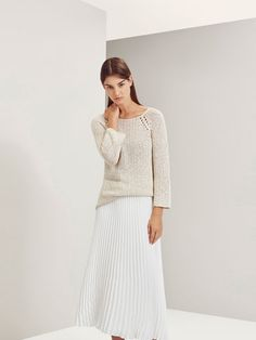 LIMITED EDITION FINE PLEATED SKIRT - NYC Limited Edition - WOMEN - Ukraine