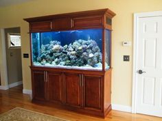 Custom-Aquarium-Cabinets-and Stands-for-Freshwater-and-Saltwater-Tanks