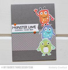 MFT Stamps WSC 295; Monster Love