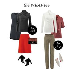 Another great cabi basic - the Wrap Tee, available in black and white. jeanettemurphey.cabionline.com - Open 24/7