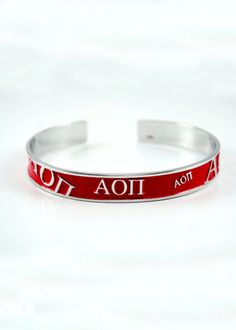 Alpha Omicron Pi Bangle $19.00