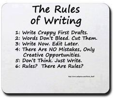 Rules of writing Via Title Wave on Facebook