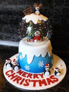Beautiful Christmas Cake Of 2012