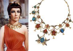 diy, trends, fashion trends, egypt,egyptian necklace,cleopatra, liz taylor, tribal jewellery,tribal,
