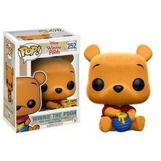Winnie the Pooh (Sitting) (Flocked) Pop Vinyl Pop Disney | Pop Price Guide