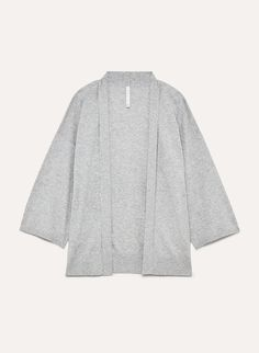 This cardigan is knit with a lightweight yarn that's wool-free and ideal for sensitive skin. Dress it up or down — it's elegant drape makes for versatile wear. Bell Sleeve Top, Tunic Tops, Wool, Elegant, Knitting, Work Outfits, How To Wear, Group, Dresses