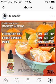 Equilibrium Vapor, Strawberry Mangerine