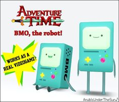 BMO from Adventure Time ~ Decor and Videogame!
