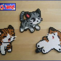 Thème chatons en perle hama midi