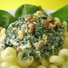 Spinach and Ricotta Cheese Sauce for Pasta Recipe