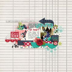 #papercraft #Scrapbook #layout     by Lizzy257 at SSD
