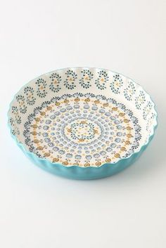 Makes me want to bake a pie. & 10 Beautiful Patterned Pie Plates \u0026 Dishes | Pies Anthropologie and ...