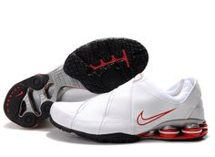 online retailer eb70f 29c74 Shop Men s Nike Shox Shoes White Black Red Grey Top Deals black, grey, blue  and more.