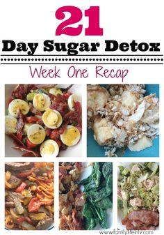 21 Day Sugar Detox Week 1 Recap | Our Knight Life #21DSD #21DaySugarDetox Level 3