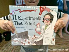 "Here is a  fun science and literature combo. Kids learn the scientific method while laughing out loud at crazy experiments like ""Do Dogs Like Glitter?""."