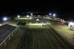 Marche Endurance Lifestyle Village by night