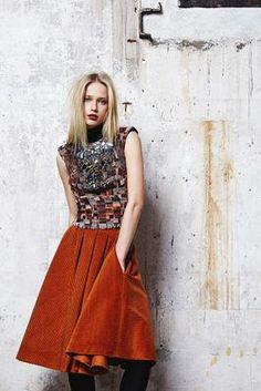 Talbot Runhof Fall 2014 Ready-to-Wear Collection Photos - Vogue Fashion Week 2015, Fashion Show, Fashion Outfits, Womens Fashion, Fashion Design, Fashion Weeks, Lookbook, Catwalks, Rock